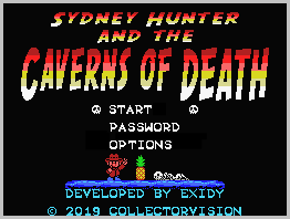 ColecoVision dk presents: Sydney Hunter And The Caverns Of