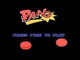 Pang for ColecoVision...