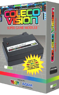 ColecoVision Scart Super Game Module Box.