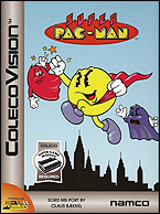Super Pac-Man Box, Front © ColecoVision.dk